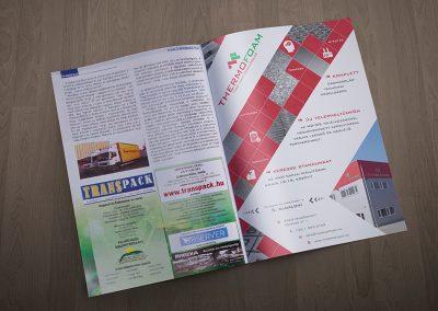 Thermofoam újsághirdetés - Transpack kiadványban